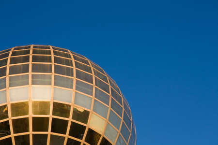 representations: Detail of the Sunsphere, Worlds Fair Park, Knoxville, Tennessee