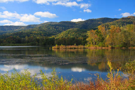 blue waters: Early autumn at Cove Lake State Park, Caryville, Tennessee