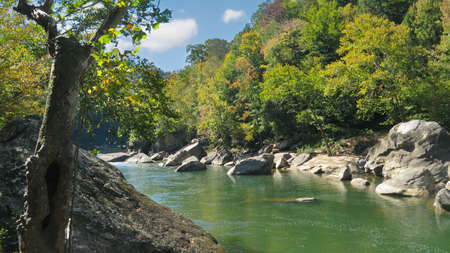 View of the Cumberland River in Kentucky.