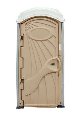 Portable Toilet isolated on white background  Stock fotó