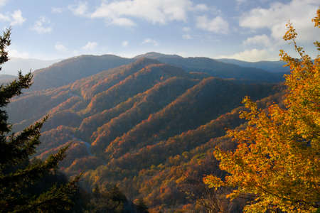 Newfound Gap, Great Smoky Mountains National Park photo