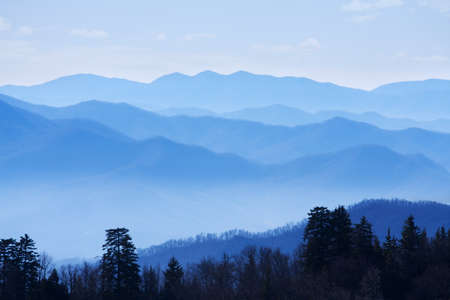 Great Smoky Mountains National Park, Tennessee USA Stok Fotoğraf