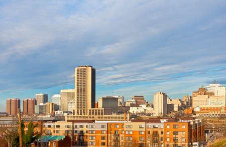 virginia: Richmond, Virginia skyline on a winter morning