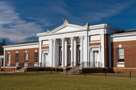 Cocke Hall on the University of Virginia campus