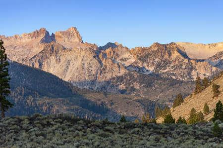 campground: Sierra Nevada Sawtooth Ridge near Bridgeport, CA and Twin Lakes Campground