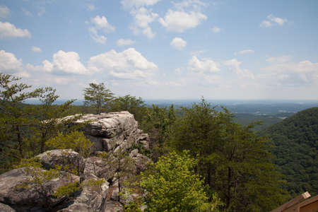 Laurel-Snow State Natural Area at Buzzard Point Overlook Stok Fotoğraf