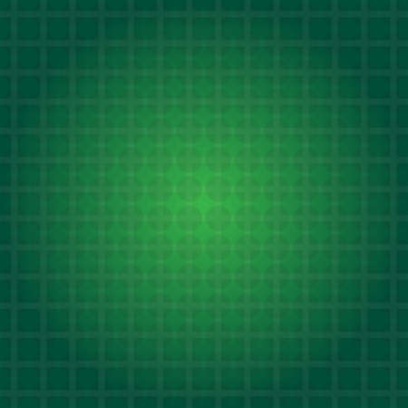 transition: green transparent square grid with transparent circles and background with green transition Illustration