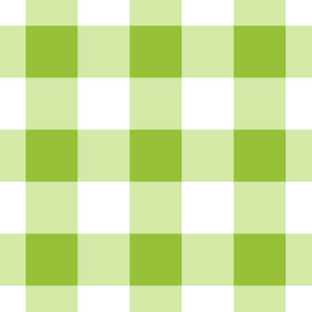 seamless pattern - white, dark and bright green tartan, tablecloth