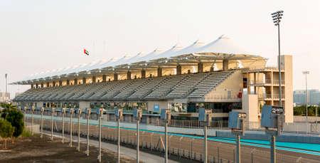 Yas Marina Circuit Tribune Abu Dhabi