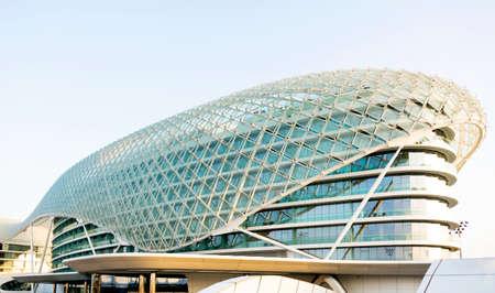 viceroy: Yas Viceroy Hotel Abu Dhabi United Arab Emirates Editorial