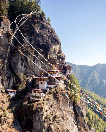 fall arrest: Bhutan Tiger Nest