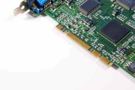 Electronic Computer Circuit Board  Standard-Bild
