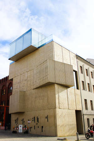 An exterior facade of Museum of Architectural Drawing in Berlin,Germany designed by SPEECH Architectural Office.