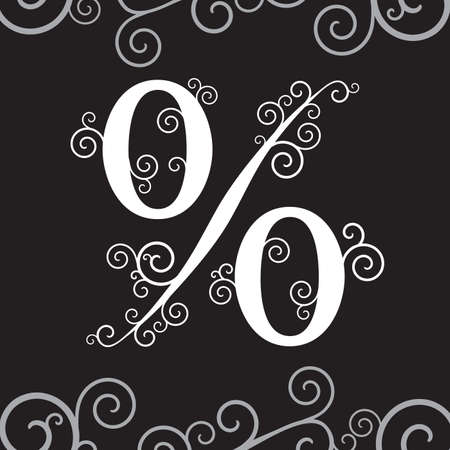 Vector background with percent symbol Stock Vector - 7556890