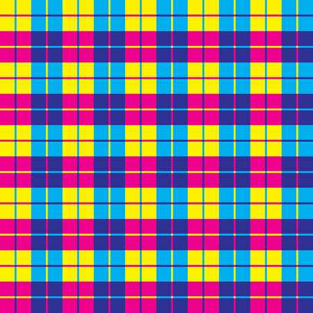 Seamless background illustration of plaid pattern Stock Vector - 7556892