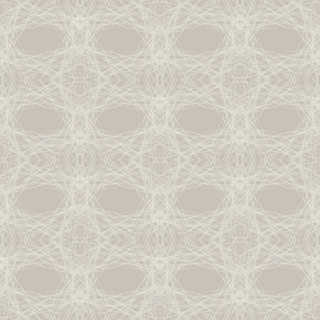 Seamless abstract background of interwoven lines, threads Vector