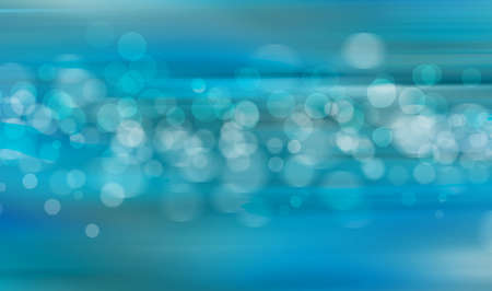 Abstract background of circles in different shades of blue photo