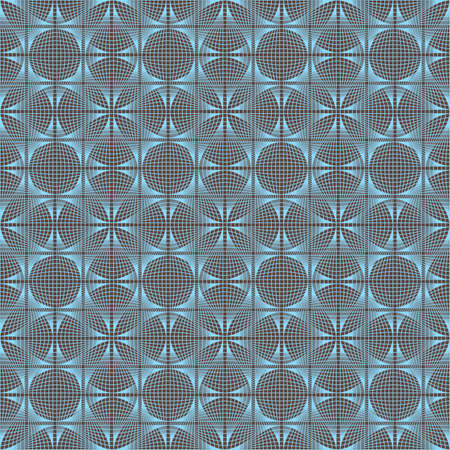 tangier: Seamless illustration of tangier grid