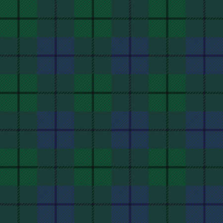 Seamless background of plaid pattern,  illustration Vector