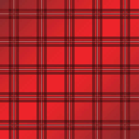 scottish: Seamless background of red plaid pattern,  illustration
