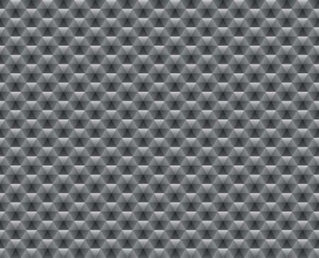 Abstract seamless wallpaper with gray triangle, illustration Vector
