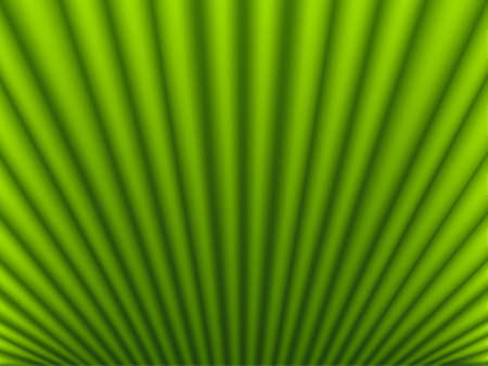 Green satin rays, silk background, vector illustration Illustration