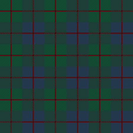 Seamless background of scottish pattern, vector illustration Illustration