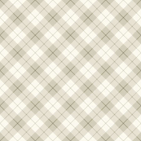 Seamless background of diagonal plaid pattern, vector illustration Vector