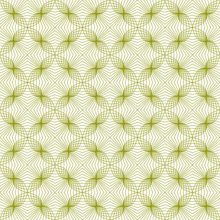 illustration of tangier grid, abstract seamless guilloche background Vector