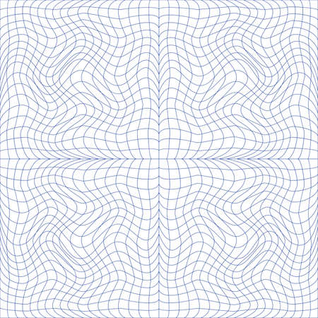 tangier: Vector illustration of tangier grid, abstract guilloche background Illustration