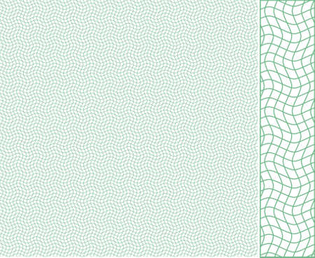 provexemplar: Vector seamless illustration of tangier grid, abstract guilloche background Illustration