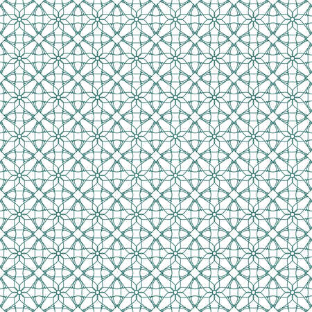 Seamless illustration of tangier grid, abstract guilloche background Stock Vector - 10484970