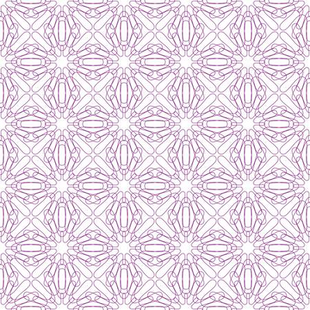 Vector seamless illustration of tangier grid, abstract guilloche background Vector