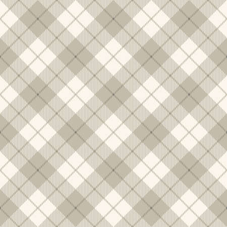 on the tablecloth: Background of diagonal plaid pattern concept, vector illustration