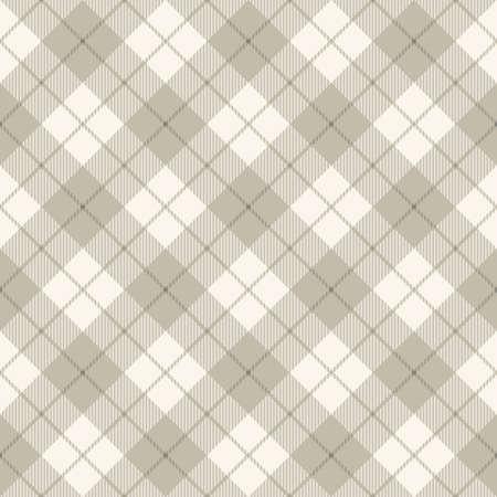 Sfondo di concetto di diagonale motivo scozzese, illustrazione vettoriale