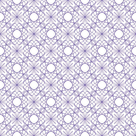 tangier: Vector seamless illustration of tangier grid, abstract guilloche ornament