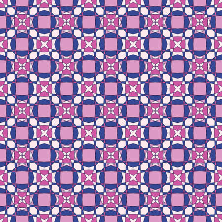 wallflower: Seamless colorful colorful pattern background, vector illustration