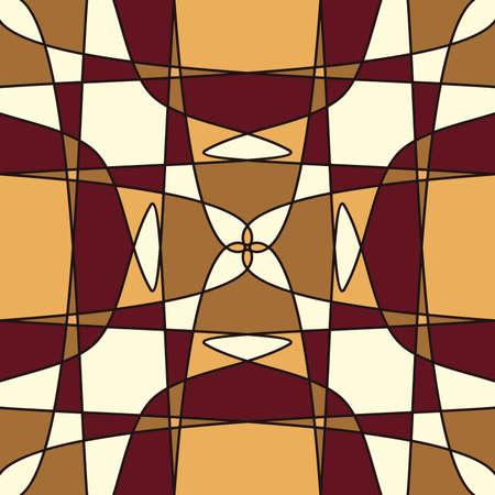 braun: Colorful retro mosaic pattern background, vector illustration