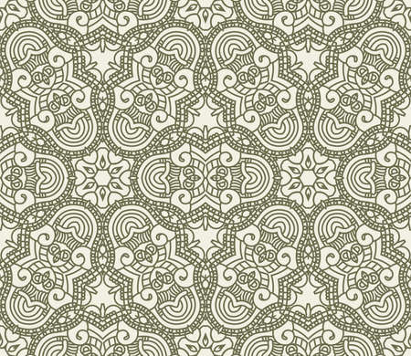 Seamless wallpaper with aztec ornament in green colors Stock Vector - 13336433