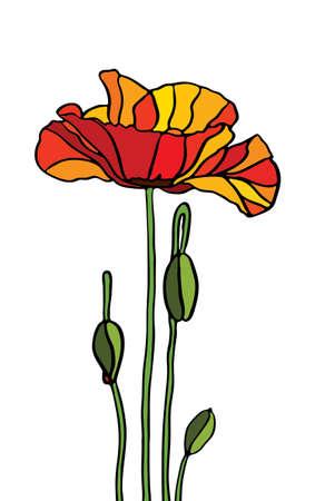 azahar: De vidrio multicolor manchada con motivos florales