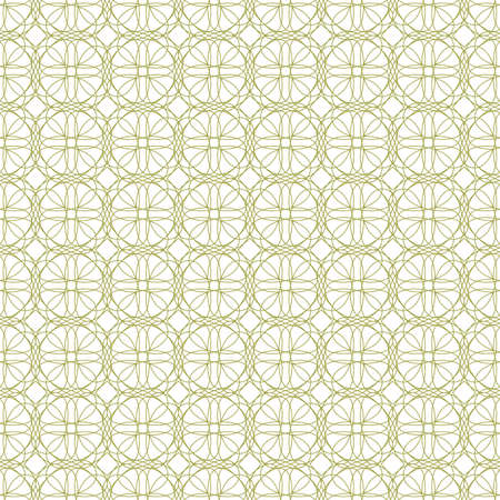 assay: seamless illustration of tangier grid, abstract guilloche background Illustration