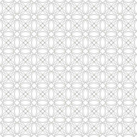 provexemplar: sömlösa grå illustration Tanger galler, abstrakt Guillochtrycket