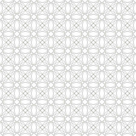 tangier: seamless gray illustration of tangier grid, abstract guilloche background