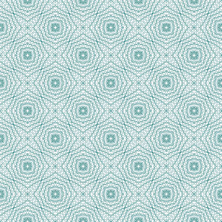assay: Vector seamless illustration of tangier grid, abstract guilloche background Illustration