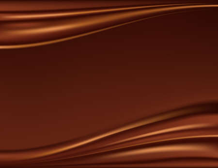 brown swirl: Abstract chocolate background, brown abstract satin, mesh vector illustration