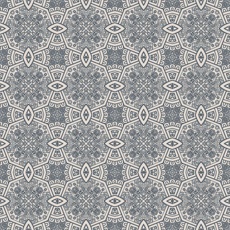 Creative design of a retro background in grey color, seamless illustration