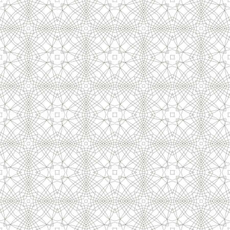 tangier: seamless illustration of tangier grid, abstract guilloche background Illustration