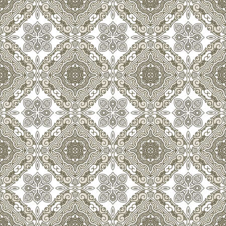Seamless colorful retro pattern background, vector illustration Vector