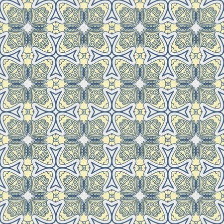 wallflower: Seamless colorful retro pattern background, vector illustration