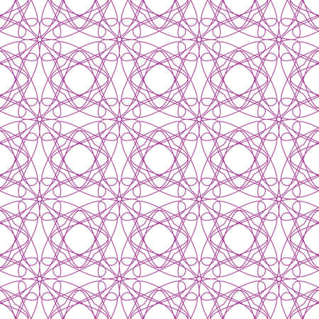 provexemplar:  seamless red illustration of tangier grid, abstract guilloche background